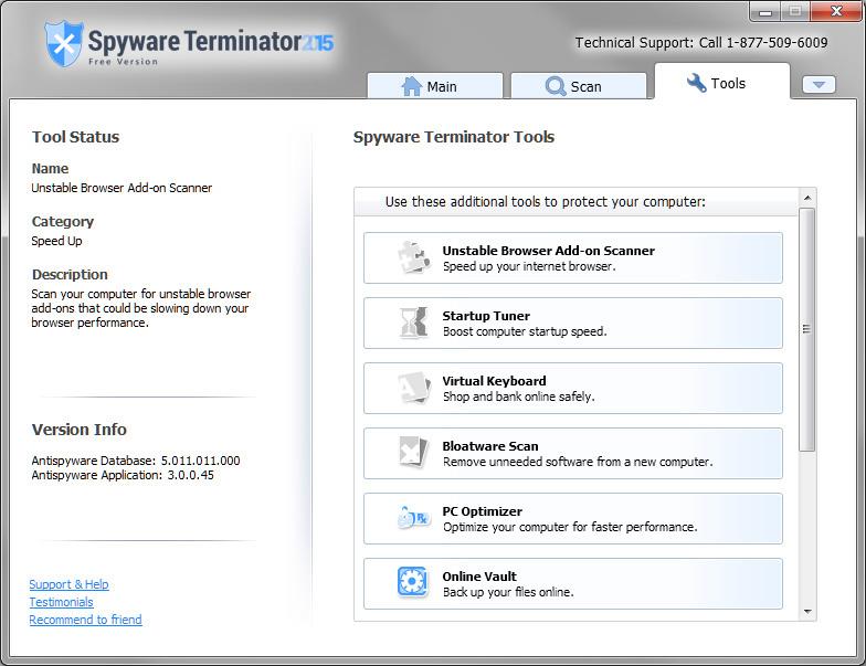 spyware terminator gratis italiano