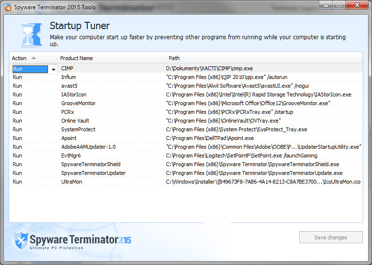 antivirus and antispyware spyware terminator 2015 pcrx security